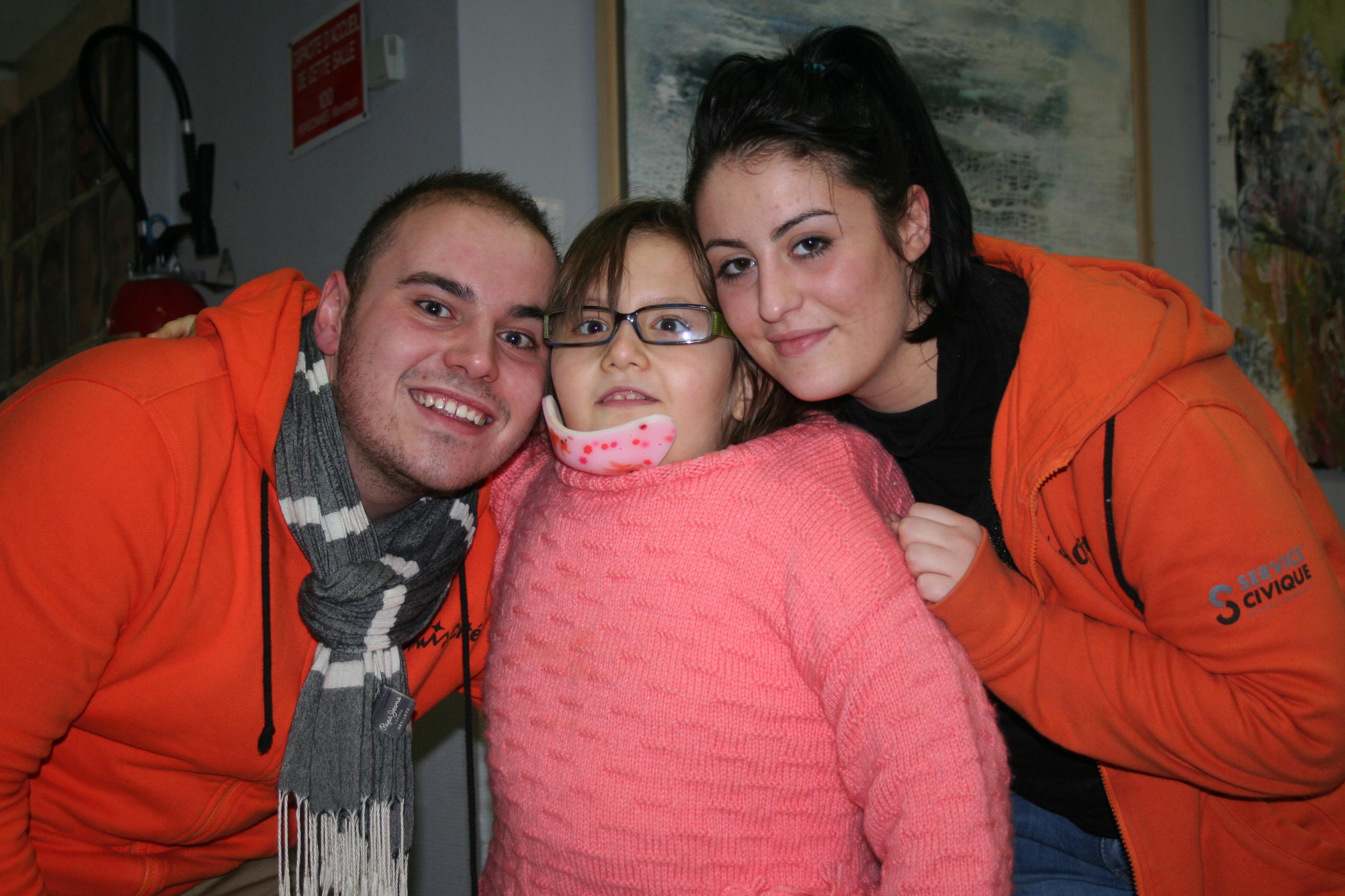 uniscite volontaires avec enfant handicape