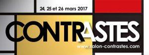 Image à la une de Salon Contrastes les 24, 25 et 26 mars 2017 à l'ENSAIT à Roubaix au profit d'AJIR