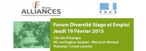 Image à la une de 19 février 2015 – Forum diversité stages, alternances et emplois