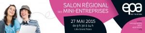 Image à la une de Mai 2015 – Salon des mini-entreprise avec EPA