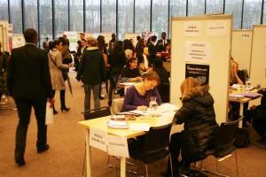 Image à la une de 25 février 2016 – Forum des stages organisé par le Réseau Alliances à Entreprises & Cité, Marcq-en-Baroeul