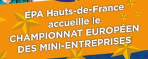Image à la une de 480 jours avant le championnat européen des mini-entreprises à Lille