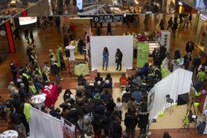 Image à la une de Village pour AJIR : les jeunes impliqués avec Hapsatou SY à  Euralille