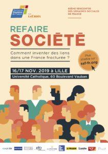 Image à la une de REFAIRE SOCIETE AJIR aux 93èmes Semaines sociales- Lille